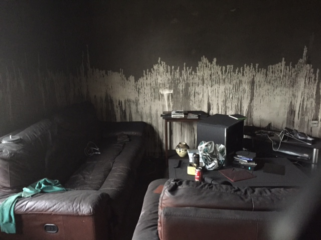 Council property fire damaged